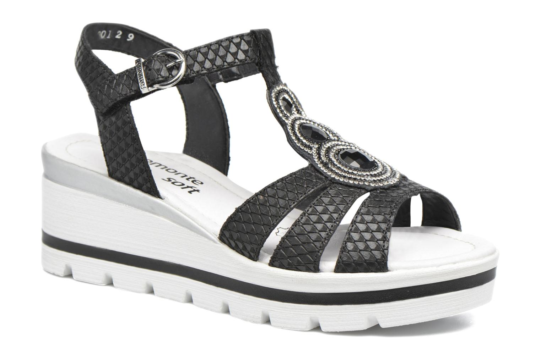 Sandales et nu-pieds Remonte Maya D1550 Noir vue détail/paire