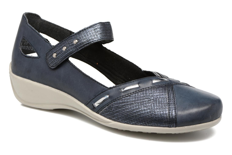 Nuevos zapatos para hombres y mujeres, descuento por tiempo limitado Remonte Bonni R9842 (Azul) - Bailarinas en Más cómodo