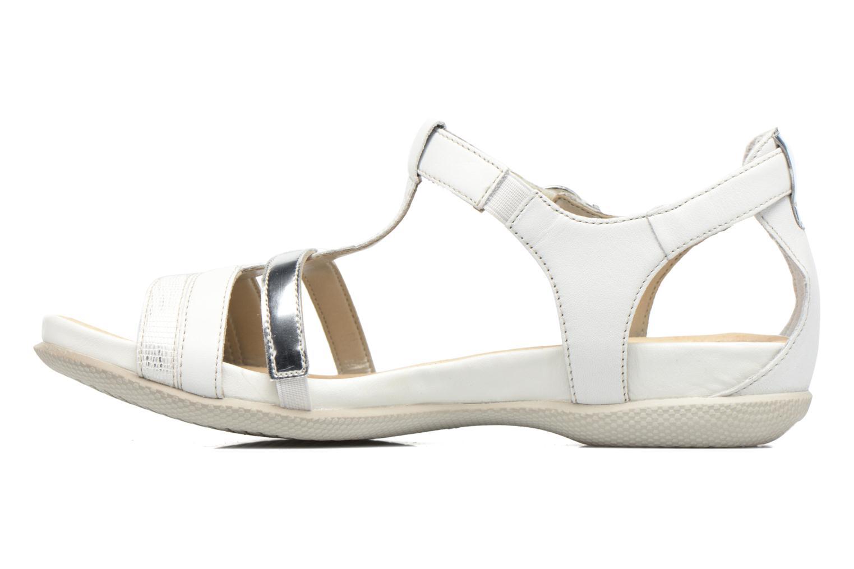 Sandales et nu-pieds Remonte Rena R7451 Blanc vue face
