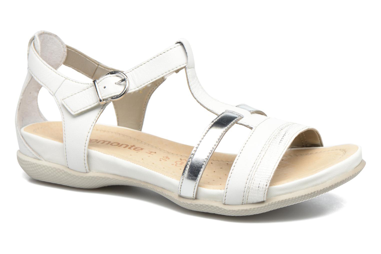 Sandales et nu-pieds Remonte Rena R7451 Blanc vue détail/paire
