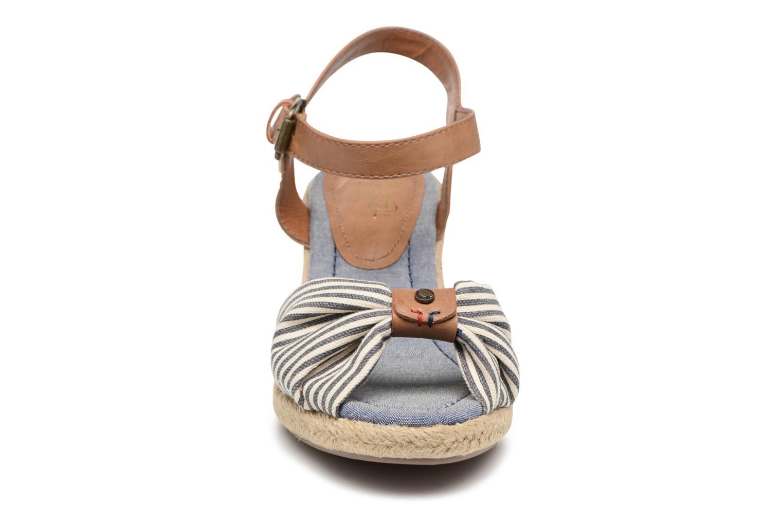 Sandalen Tom Tailor Nalian blau schuhe getragen