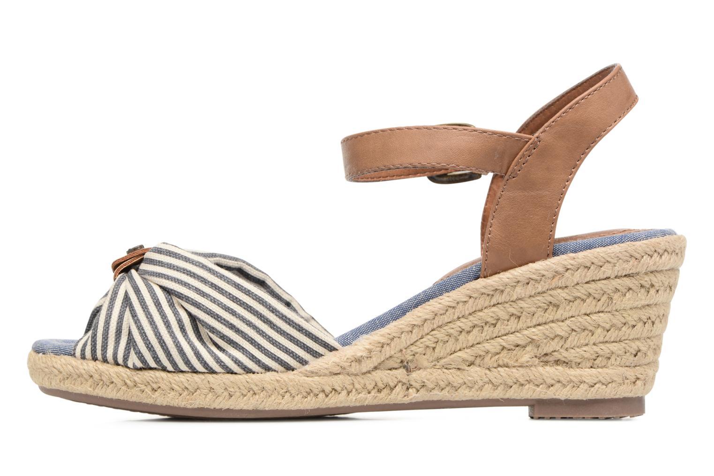 Sandales et nu-pieds Tom Tailor Nalian Bleu vue face