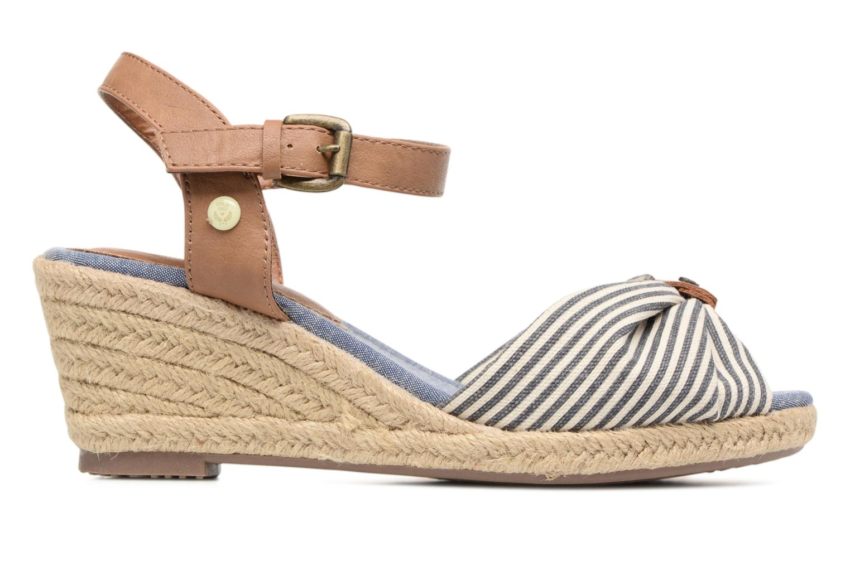 Sandaler Tom Tailor Nalian Blå bild från baksidan