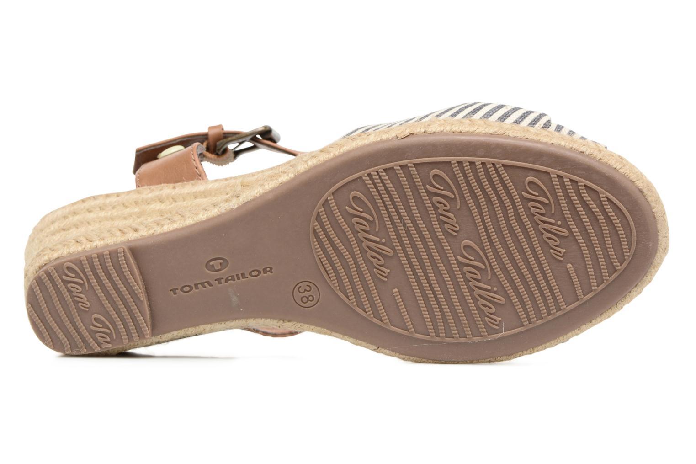 Sandaler Tom Tailor Nalian Blå bild från ovan