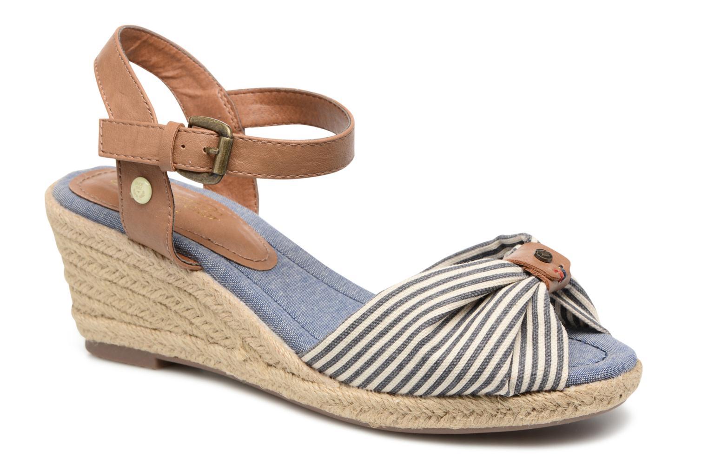 Sandales et nu-pieds Tom Tailor Nalian Bleu vue détail/paire