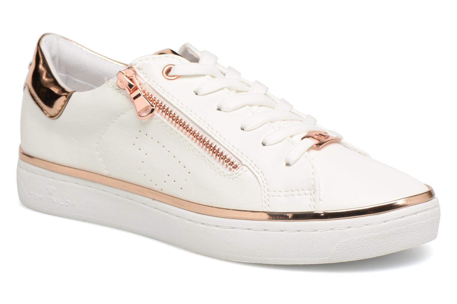 Sneakers Tom Tailor Coolioo Wit detail