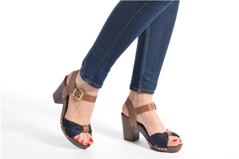 Sandales et nu-pieds Tom Tailor Monica Bleu vue bas / vue portée sac