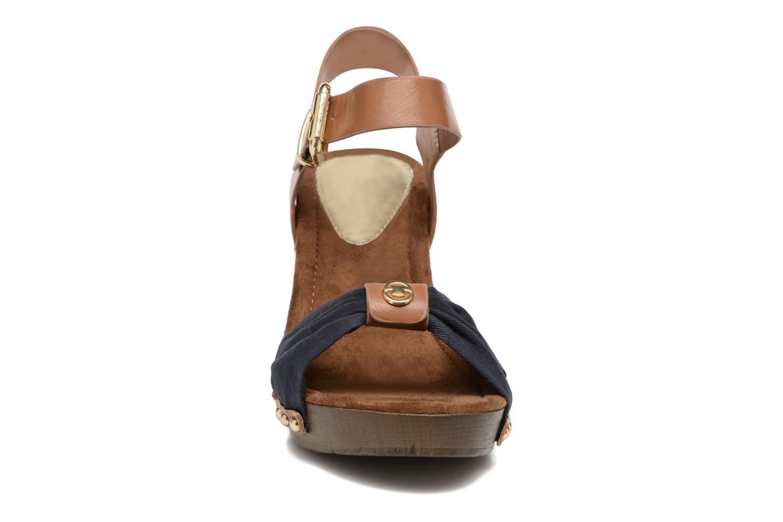 Sandali e scarpe aperte Tom Tailor Monica Azzurro modello indossato