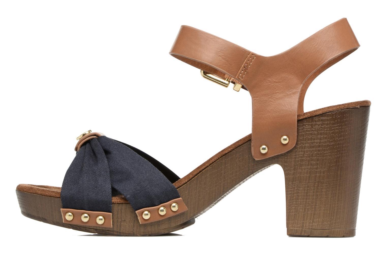 Sandales et nu-pieds Tom Tailor Monica Bleu vue face