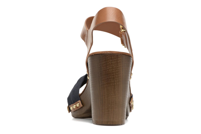 Sandales et nu-pieds Tom Tailor Monica Bleu vue droite