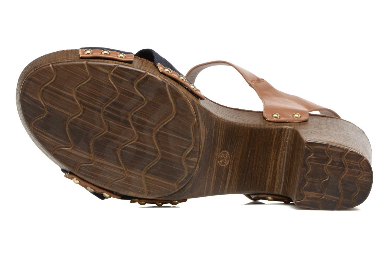 Sandales et nu-pieds Tom Tailor Monica Bleu vue haut