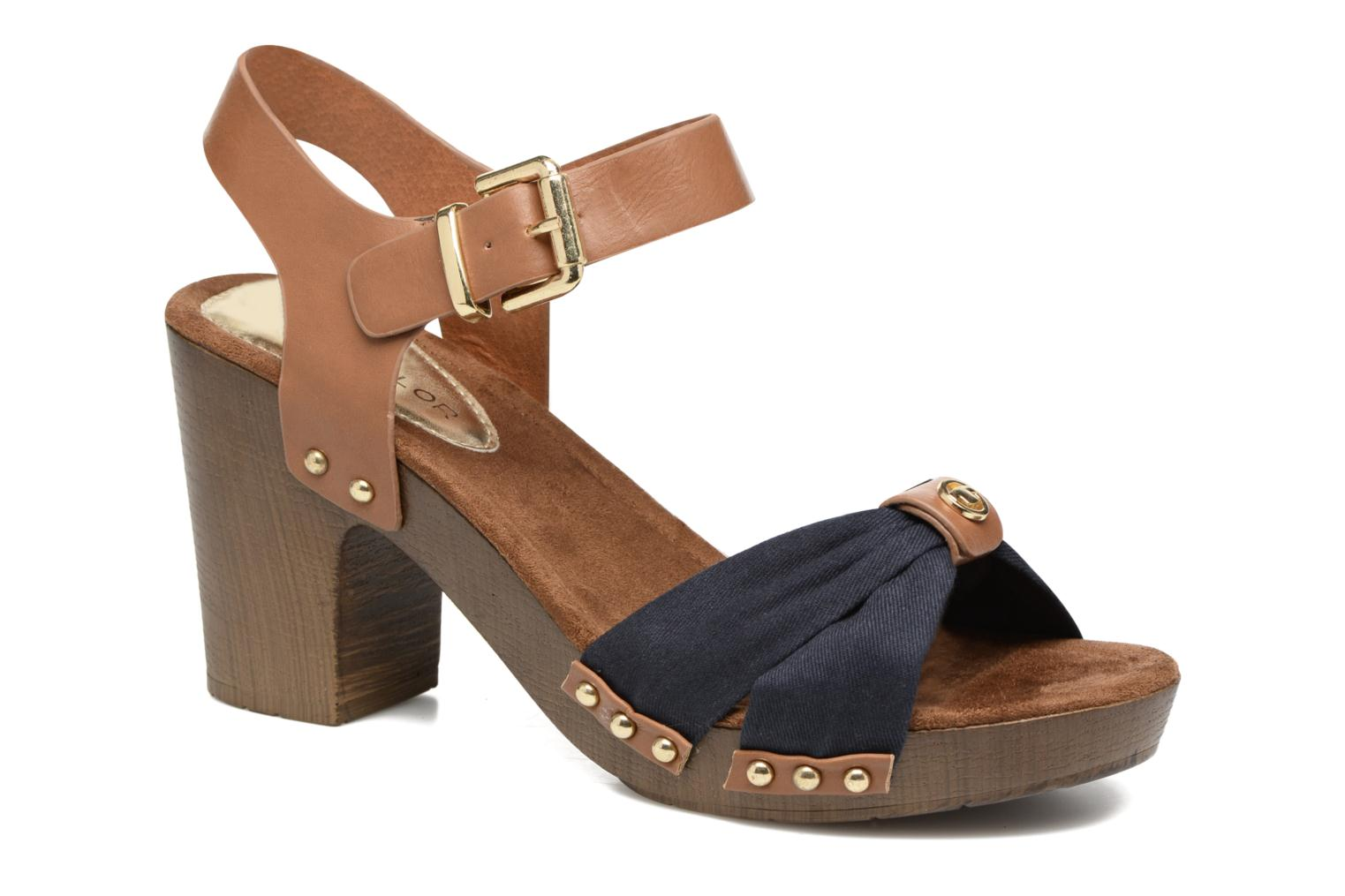 Sandals Tom Tailor Monica Blue detailed view/ Pair view
