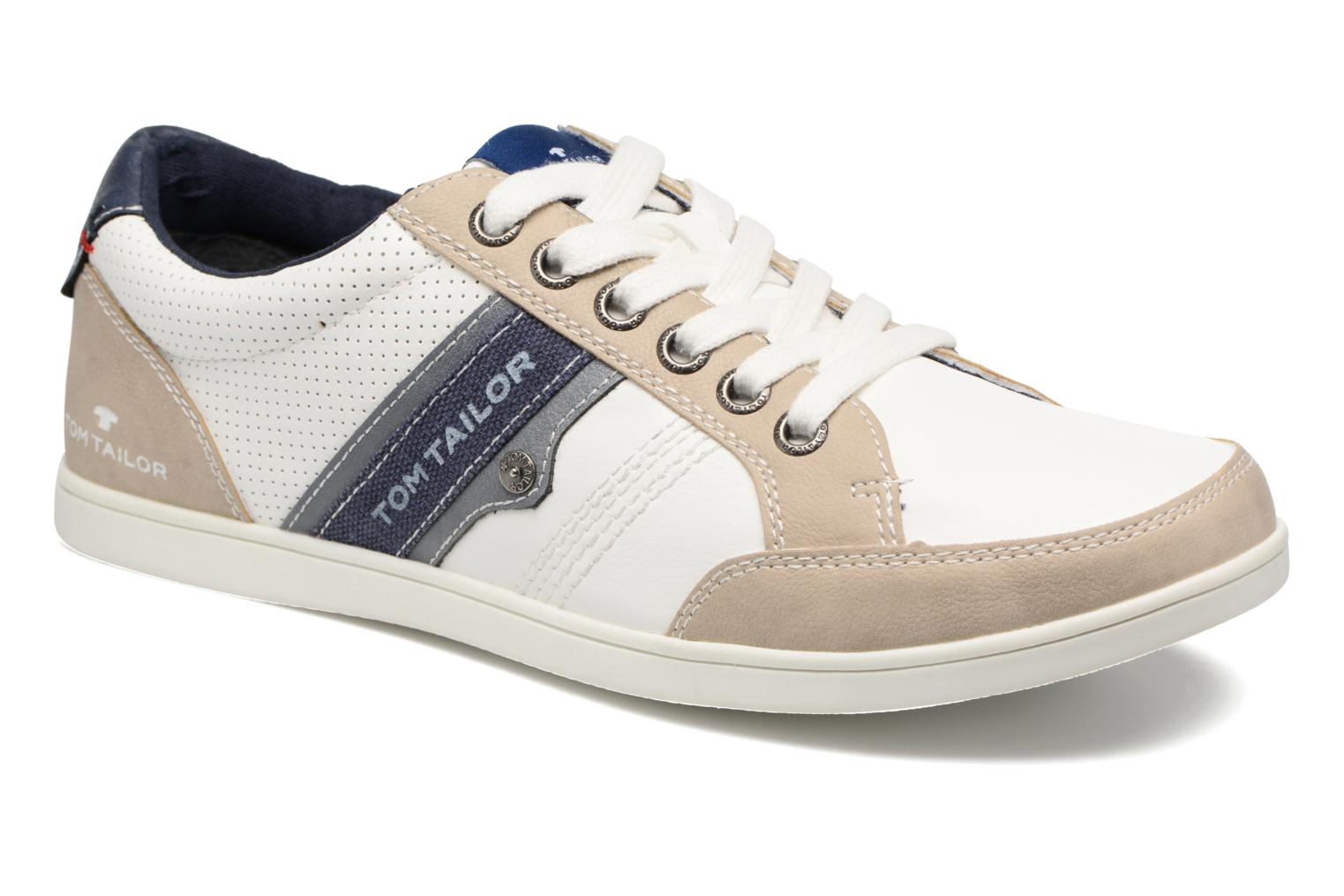 Trainers Tom Tailor Pio White detailed view/ Pair view