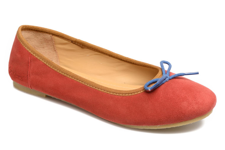 Zapatos promocionales Kickers Baie (Rojo) - Bailarinas   Casual salvaje