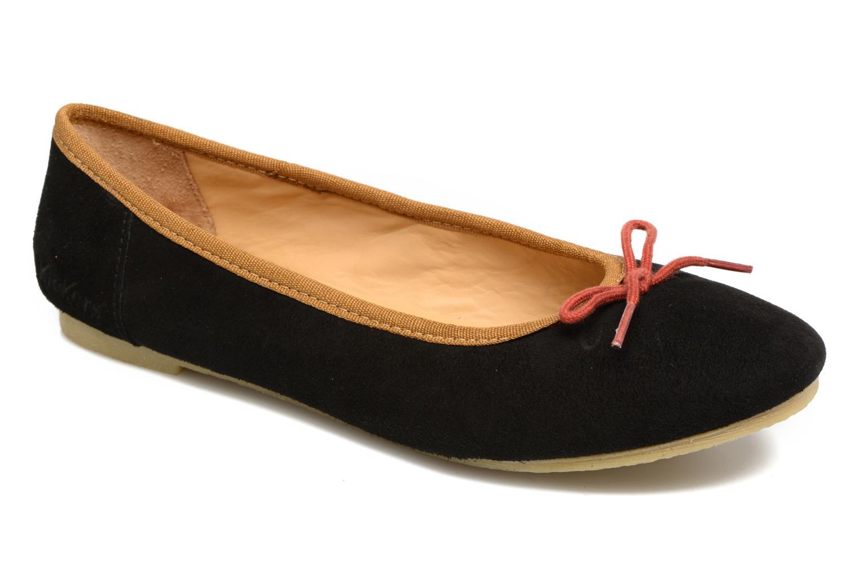Grandes descuentos últimos zapatos Kickers Baie (Negro) - Bailarinas Descuento