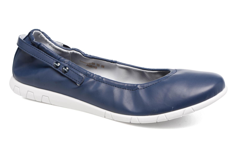 Ballerinas Kickers Belina blau detaillierte ansicht/modell