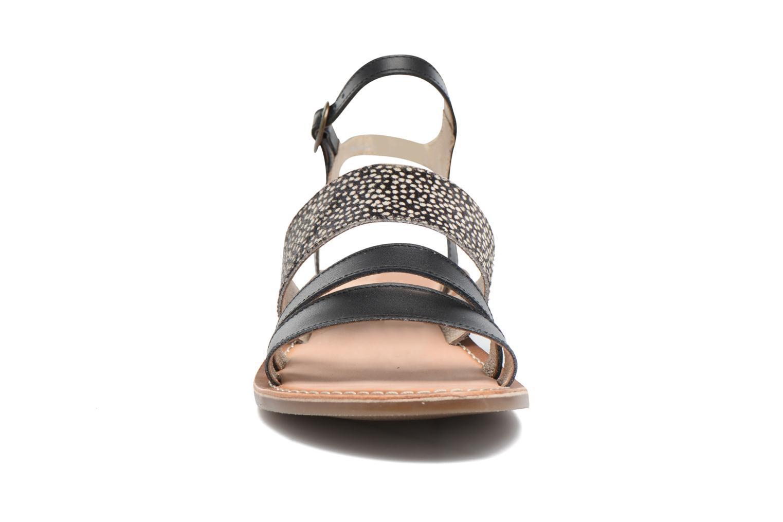 Sandalen Kickers Divatte schwarz schuhe getragen