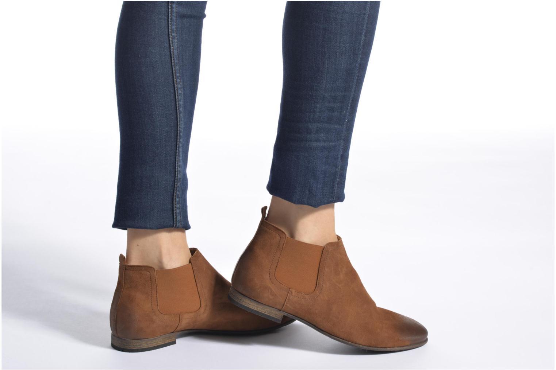 Stiefeletten & Boots Kickers Gazette blau ansicht von unten / tasche getragen