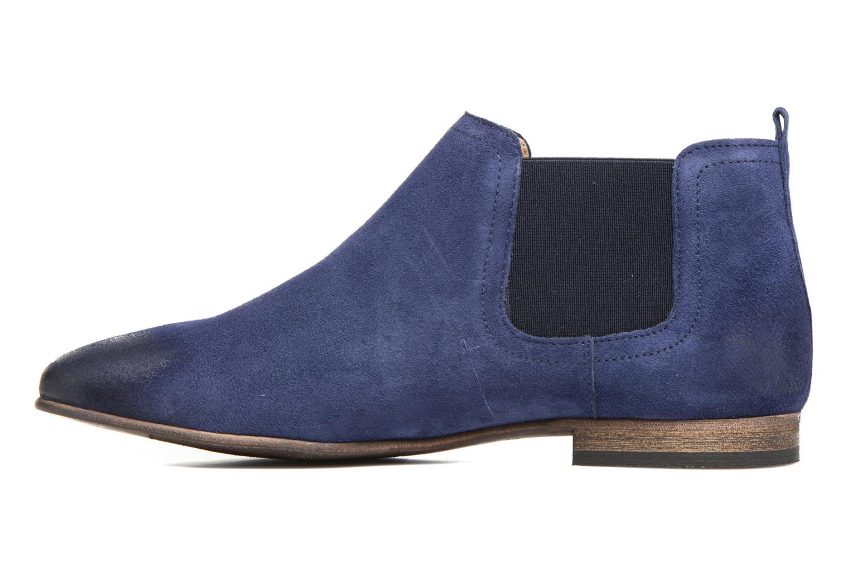 Stiefeletten & Boots Kickers Gazette blau ansicht von vorne
