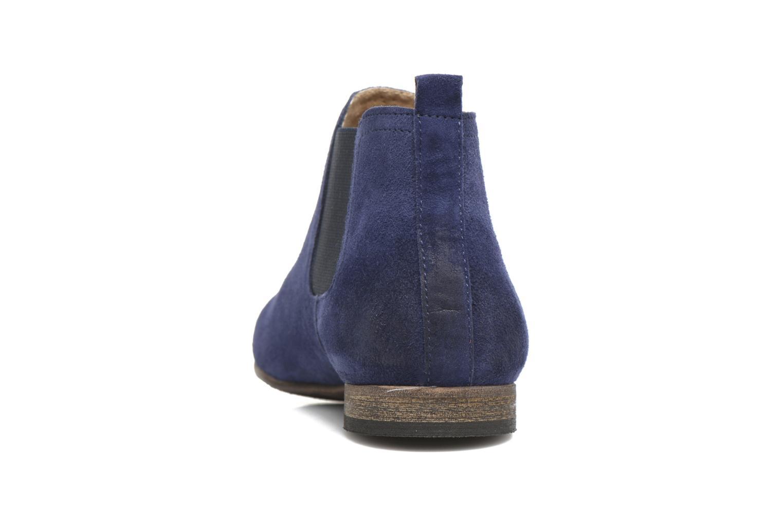 Stiefeletten & Boots Kickers Gazette blau ansicht von rechts