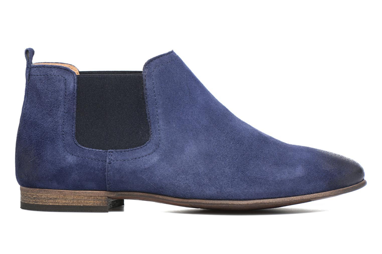 Boots Kickers Gazette Blå bild från baksidan