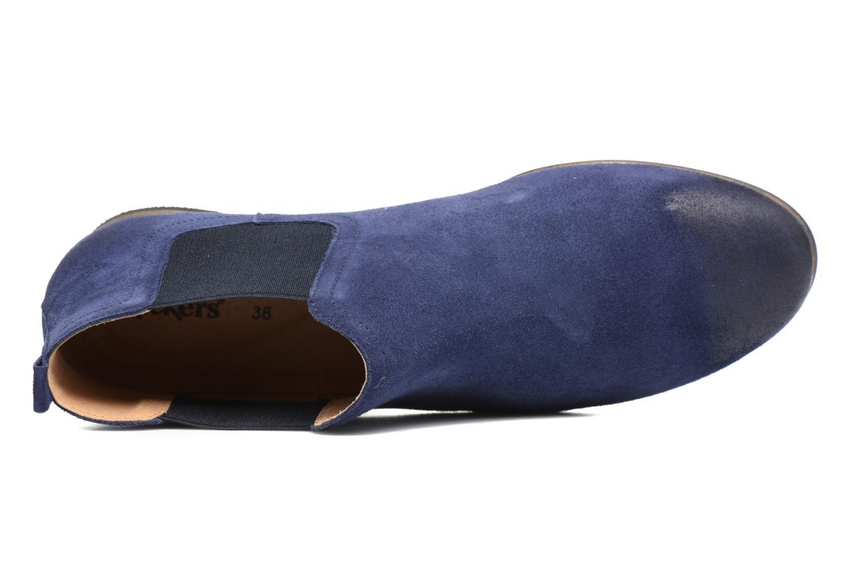 Stiefeletten & Boots Kickers Gazette blau ansicht von links