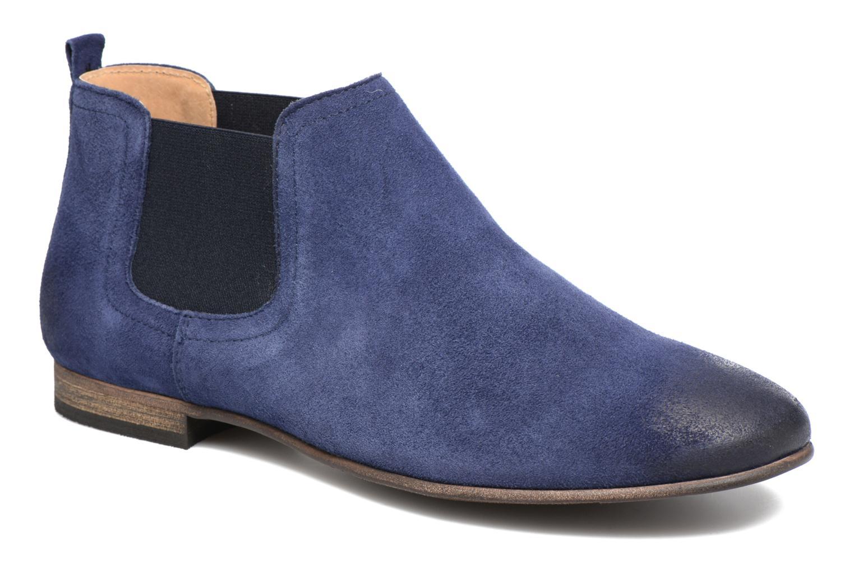 Ankelstøvler Kickers Gazette Blå detaljeret billede af skoene