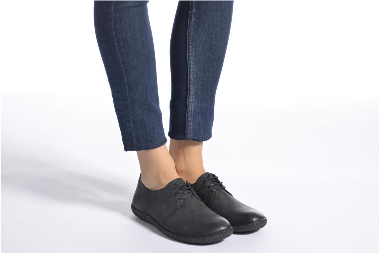Chaussures à lacets Kickers Holster Marron vue bas / vue portée sac