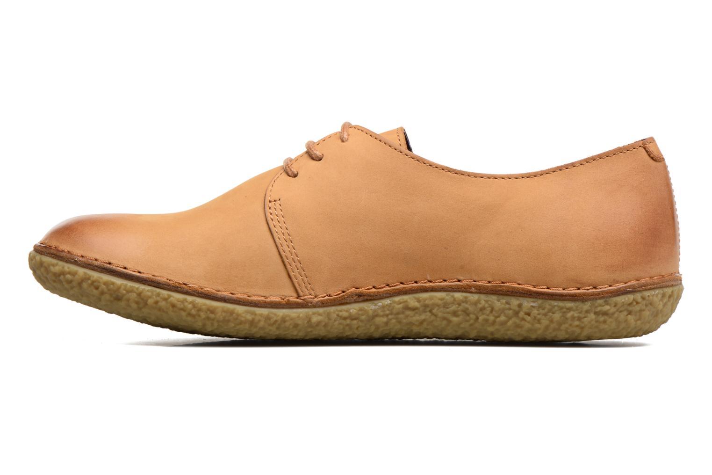 Chaussures à lacets Kickers Holster Marron vue face