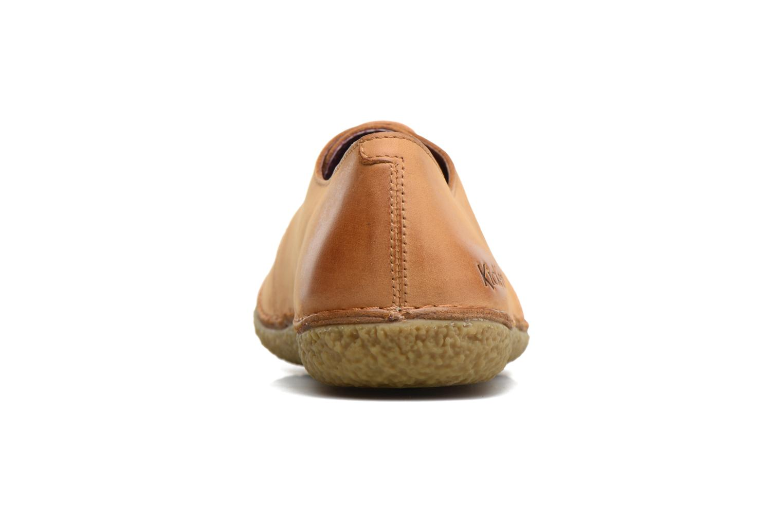 Chaussures à lacets Kickers Holster Marron vue droite