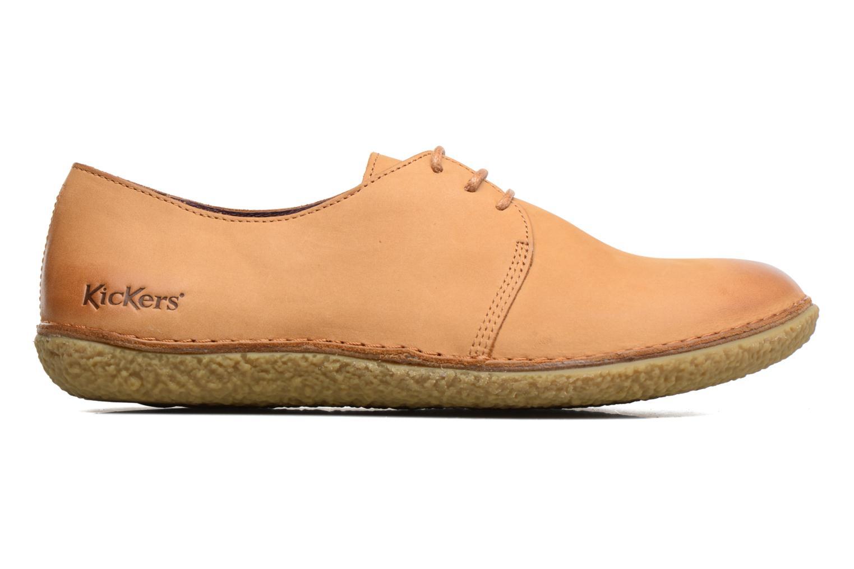 Chaussures à lacets Kickers Holster Marron vue derrière