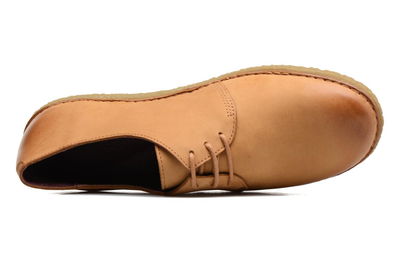 Chaussures à lacets Kickers Holster Marron vue gauche