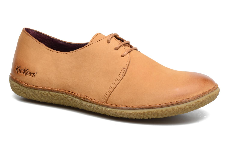 Chaussures à lacets Kickers Holster Marron vue détail/paire