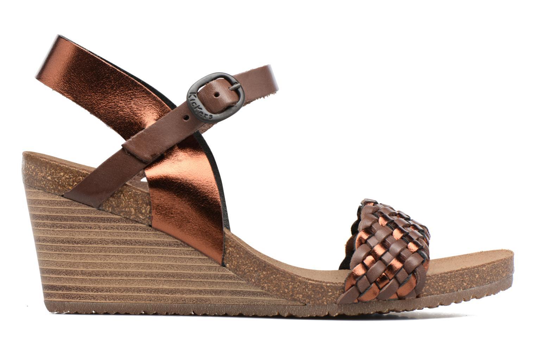 Sandalen Kickers Splendid Bruin achterkant