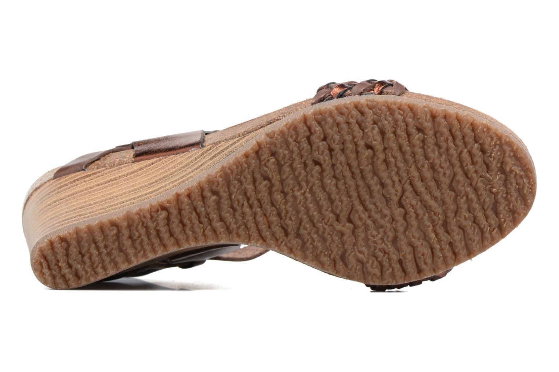 Sandalen Kickers Splendid Bruin boven