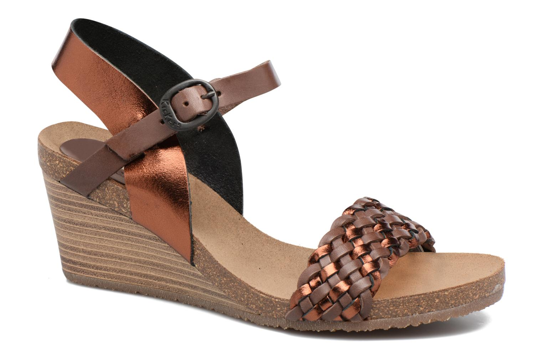 Sandalen Kickers Splendid Bruin detail