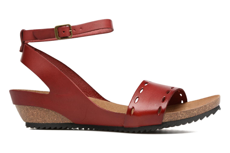 Sandalen Kickers Tokrom rot ansicht von hinten