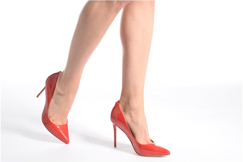 High heels COSMOPARIS Vaena/Ver Red view from underneath / model view