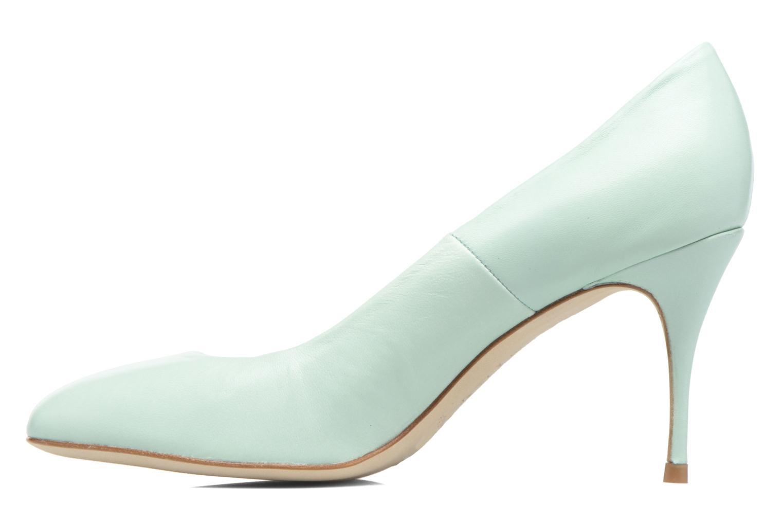 High heels COSMOPARIS Ajimi Green front view