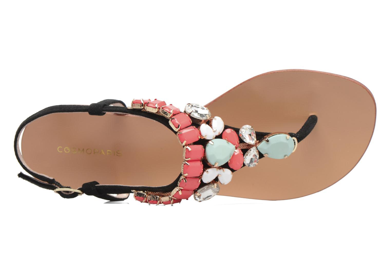 Sandals COSMOPARIS Hania/Nub Multicolor view from the left