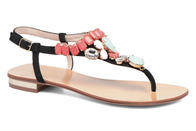 Sandals COSMOPARIS Hania/Nub Multicolor detailed view/ Pair view