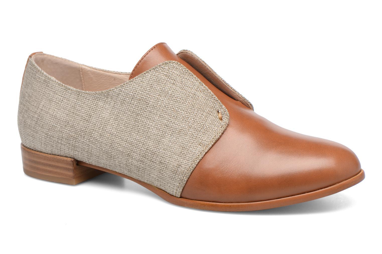 Loafers COSMOPARIS Emico/Lin Brun detaljerad bild på paret