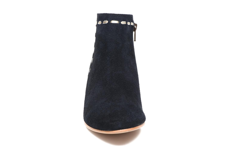 Ankle boots COSMOPARIS Fenoa/Vel Blue model view