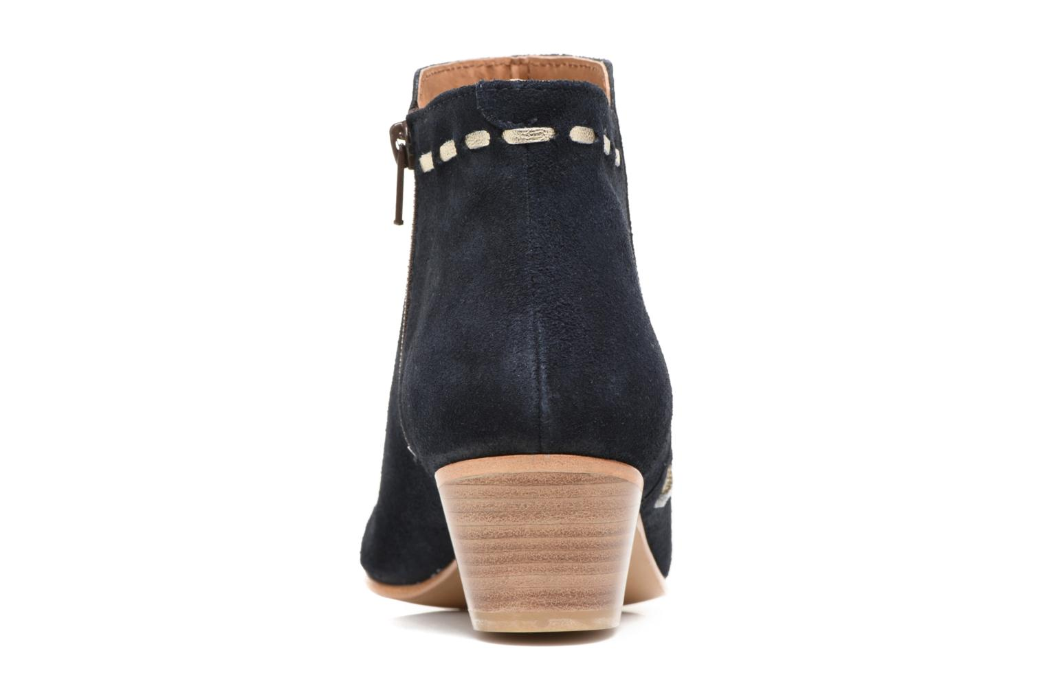 Ankle boots COSMOPARIS Fenoa/Vel Blue view from the right