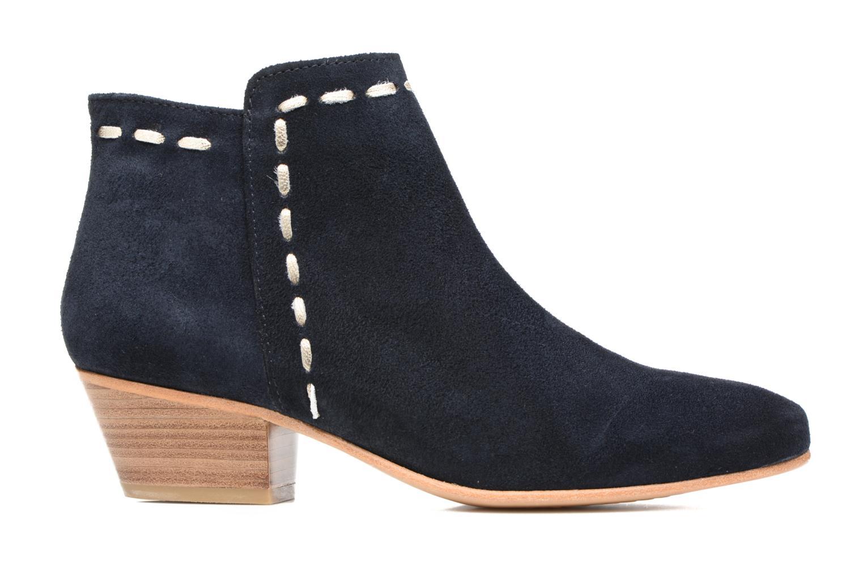 Ankle boots COSMOPARIS Fenoa/Vel Blue back view