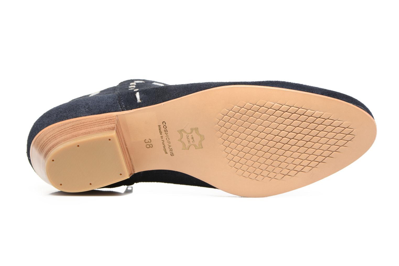 Stiefeletten & Boots COSMOPARIS Fenoa/Vel blau ansicht von oben