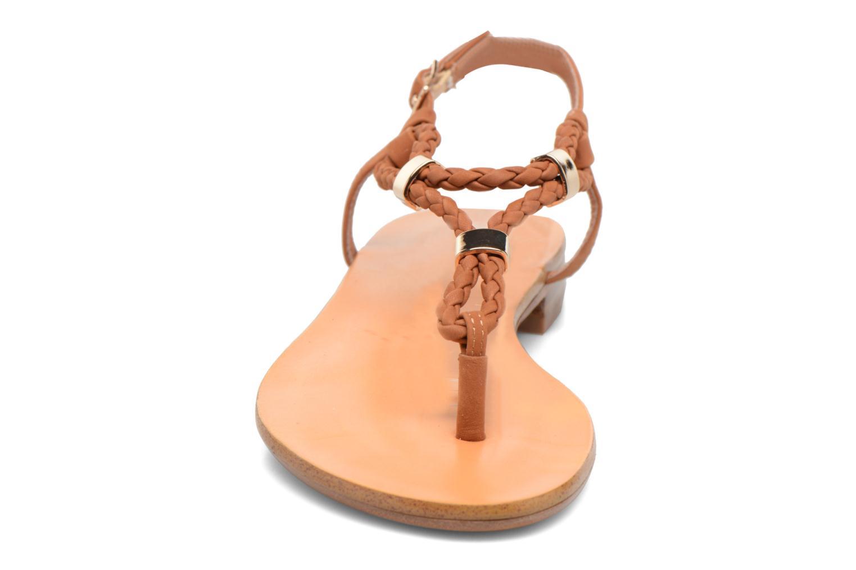 Sandales et nu-pieds COSMOPARIS Heloa/Tre Marron vue portées chaussures