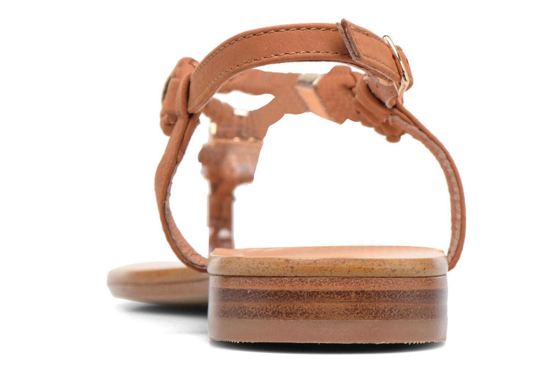 Sandales et nu-pieds COSMOPARIS Heloa/Tre Marron vue droite