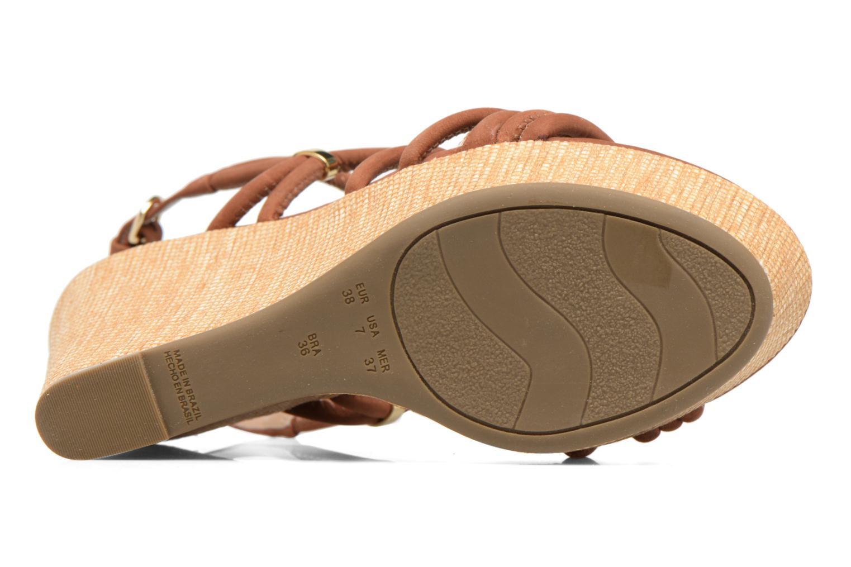 Sandalen COSMOPARIS Carminin/Nub Bruin boven