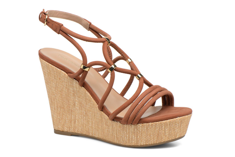 Zapatos promocionales COSMOPARIS Carminin/Nub (Marrón) - Sandalias   Venta de liquidación de temporada